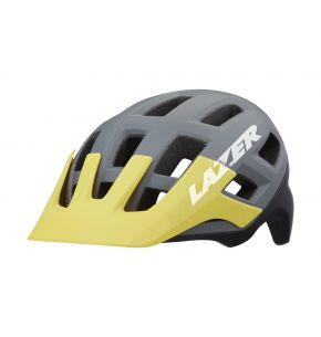 Lazer Helm Coyote Matte Grey Yellow