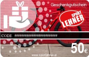 Sport Lehner Geschenkgutschein Bike2